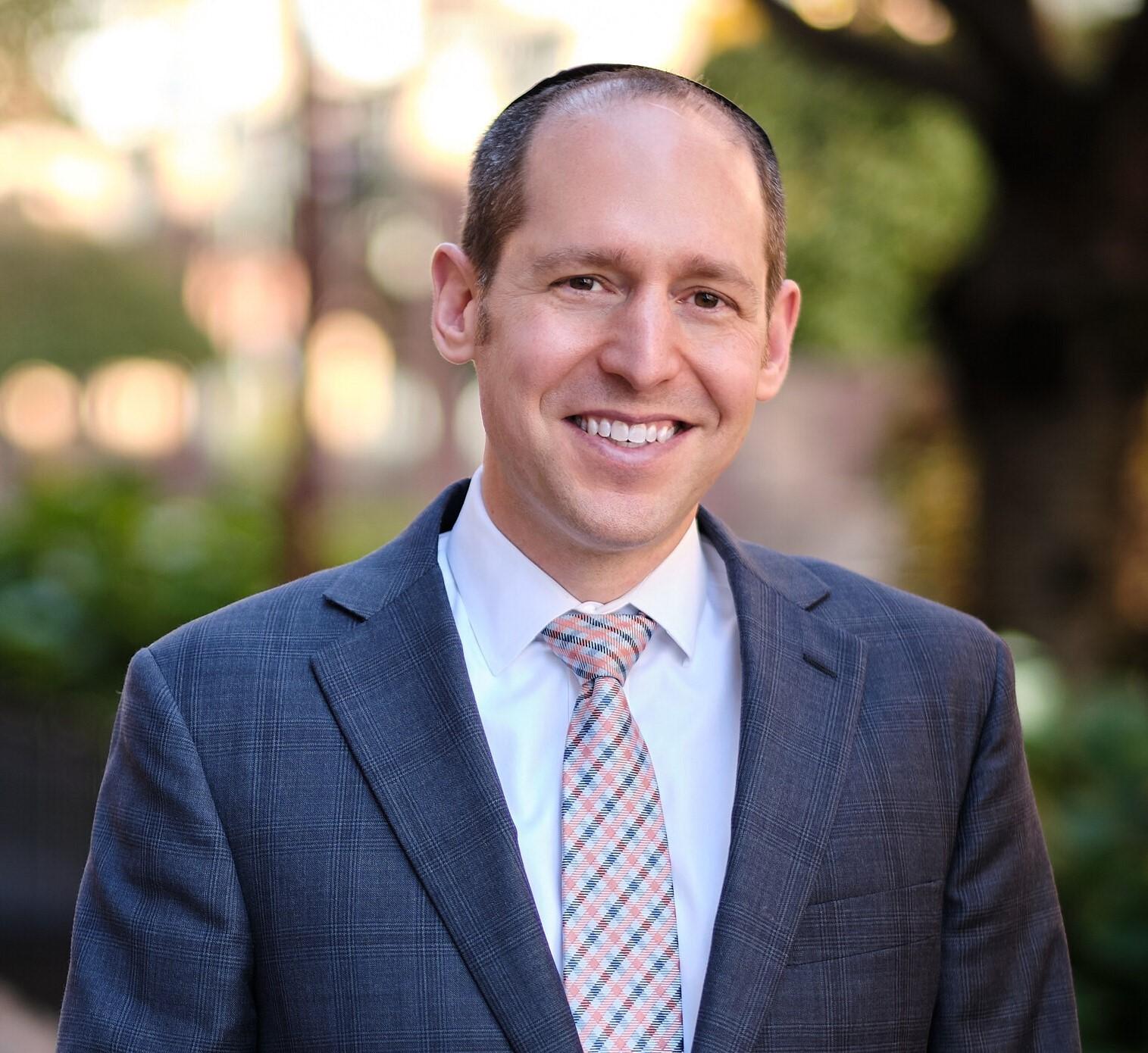 David H. Rosmarin smiling
